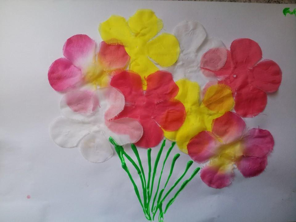 Un bouquet de fleurs - Faire un bouquet de fleurs ...